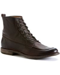 Frye - Phillip Leather Work Boots - Lyst