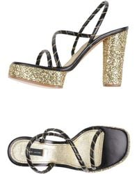 Marc Jacobs Platform Sandals - Lyst