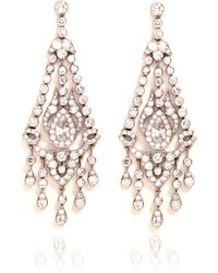 Simon Teakle - Art Deco Chandelier Earrings - Lyst
