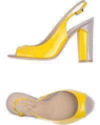 Grey Mer Sandals - Lyst
