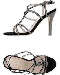 Lola Cruz High-Heeled Sandals - Lyst