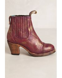 Anthropologie Astral Chelsea Booties - Lyst
