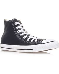 Converse Ctas Leather Hi - Lyst