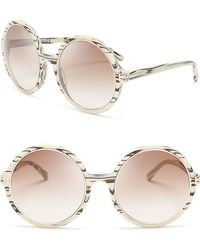 Tom Ford Carrie Oversized Round Sunglasses - Lyst