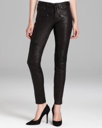 Hudson Jeans - Shelby Moto Super Skinny Leather - Lyst