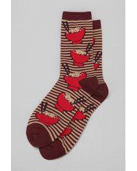 Urban Outfitters - Ramen Sock - Lyst