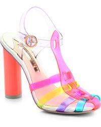 Sophia Webster Rosa Jelly Tstrap Sandals - Lyst
