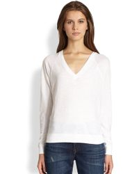 Vince Cotton Jersey Tee - Lyst