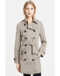 Burberry Brit Havenby Double Breasted Trench Coat - Lyst