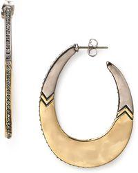 House of Harlow 1960 - Modern Tribal Hoop Earrings - Lyst