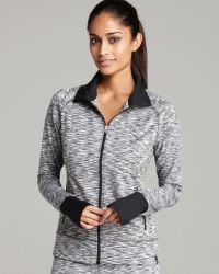 Moving Comfort - Foxie Melange Zip Top - Lyst