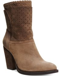 Steven by Steve Madden wedges boots wedge boots ankle boots - Lyst
