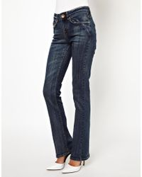 Free People Oasis Clean Wash Bootcut Jean - Lyst