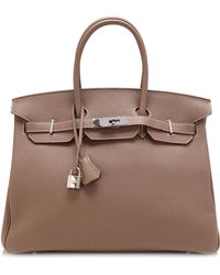 Heritage Auctions Special Collection 35cm Etoupe Togo Leather Hermes Birkin - Lyst