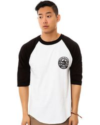 Obey The Death Or Glory Baseball Tee - Lyst