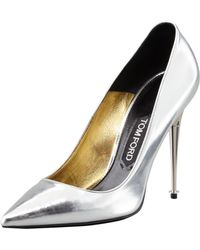 Tom Ford Mirrorleather Pointytoe Pump - Lyst