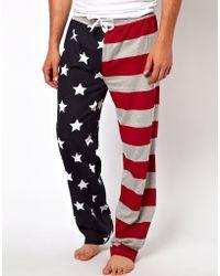 Calvin Klein New Look Stars Stripes Pajama Bottoms - Lyst