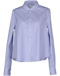 Boy by Band of Outsiders Long Sleeve Shirt - Lyst