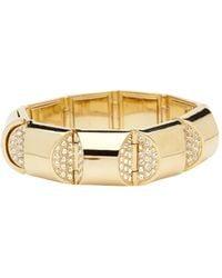 CC SKYE Golden Nugget Bracelet - Lyst