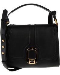 Fendi Medium Leather Bag - Lyst