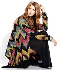 Forever 21 Color Cascade Zigzag Cardigan - Lyst