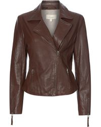 Linea Weekend - Leather Jacket - Lyst