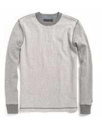 Tommy Hilfiger Long Sleeve Colorblock Thermal Tee - Lyst