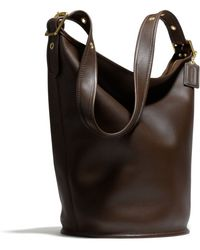 Coach Coach Classic Leather Duffle - Lyst