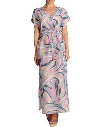 Emilio Pucci Beach Dress - Lyst