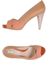Fendi Courts With Open Toe - Lyst