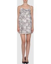 Lavand. Short Dress - Lyst