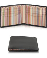 Paul Smith Signature Stripe Interior Billfold Wallet - Lyst