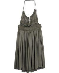Derek Lam Short Dress - Lyst