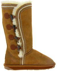 EMU - Albina Toggle Sheepskin Boots - Lyst