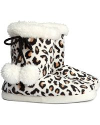 H&M Animal Slippers - Lyst