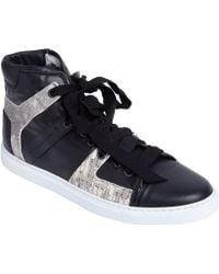 Lanvin Tejuseffect Hightop - Lyst