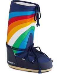 ModCloth Moonwalk The Walk Boots multicolor - Lyst