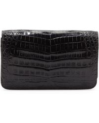 Nancy Gonzalez Crocodile Wallet On A Chain - Lyst