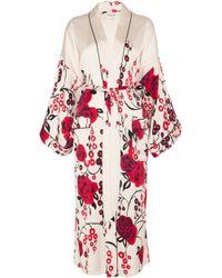 Temperley London - Kimono Dressing Gown - Lyst