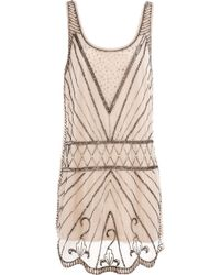 Pull&Bear Jewel Dress - Lyst