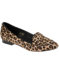 Stefanel Slipper Shoes with Leopard Print - Lyst