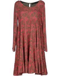 Antik Batik Pink Short Dress - Lyst