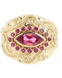 Aurelie Bidermann Ring - Lyst