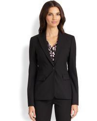 Boss Black Juicy Stretch wool Blazer - Lyst