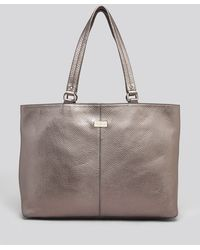 Cole Haan Tote Village East West Metallic Tech - Lyst