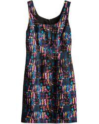 Cynthia Rowley Seamed Tank Dress - Lyst