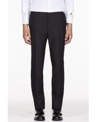 McQ by Alexander McQueen Black Classic Slim Trousers - Lyst