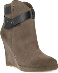 MIA - Colonyy Wedge Booties - Lyst