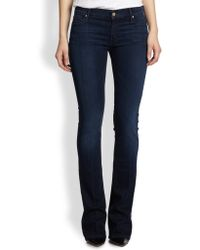 Mother The Runaway Skinny Flare Jeans - Lyst