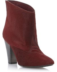 Pied A Terre Salinip Pointd Pull On Ankle Boots - Lyst